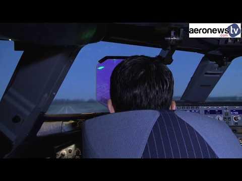 Thomas Pesquet en formation pilotage chez Airbus