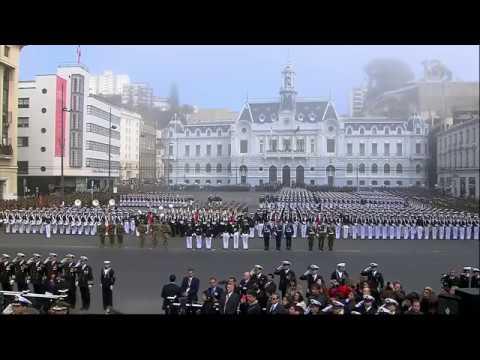 Desfile oficial 21 de mayo desde Valparaíso