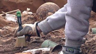 Под Тверью найдены останки солдат Великой Отечественной войны