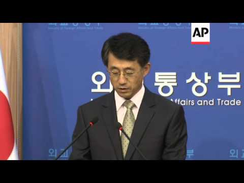 South Korean foreign ministry criticises Japan in new row over 'comfort women'