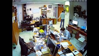 Фрагмент записи видео с камеры Link D73W-8G