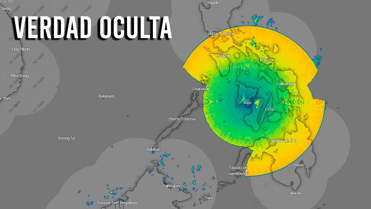 PRIMERO EN MÉXICO AHORA EN FILIPINAS ¿QUÉ ESTAN DETECTANDO LOS RADARES METEOROLÓGICOS?