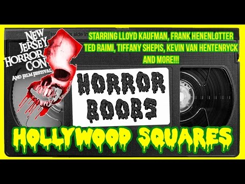 Frank Henenlotter, Lloyd Kaufman, Ted Raimi, Tify Shepis Hollywood Squares Film Fest Afterparty