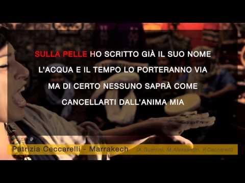 Patrizia Ceccarelli - Marrakech (karaoke+lyrics)