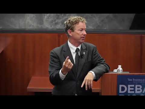 Rand Paul's FULL Q and A at The Federalist Society