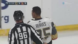 Ryan Reaves Fights: 2019 Golden Knights