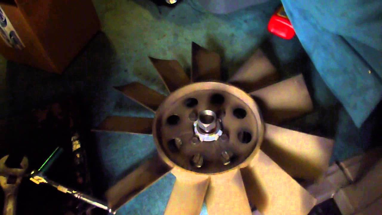 Astro Safari Van Fan Clutch Replacement 43 Litre Youtube Chevy 4 3 Liter Engine