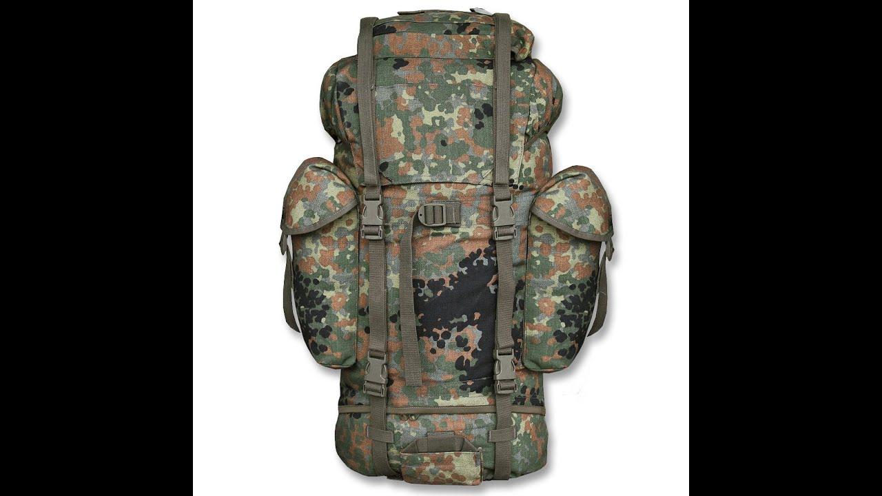 Рюкзак полевой бундесвер камуфляж флектарн б/у купить рюкзак школьный для подростка в харькове