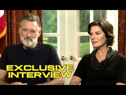 Bill Pullman and Sela Ward Exclusive  for INDEPENDENCE DAY: RESURGENCE
