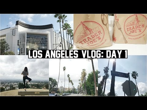 HIKING, THE GROVE, TRADER JOE'S HAUL (LOS ANGELES DAY 1)