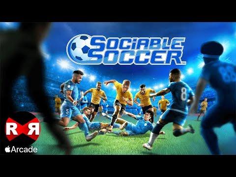 Sociable Soccer (by Rogue Games) - IOS (Apple Arcade) Gameplay