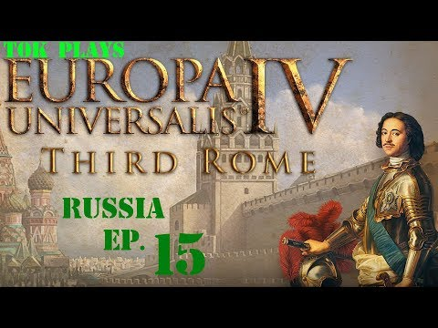 Tok plays EU4: Third Rome - Russia ep. 15 - Forcing Colonialism
