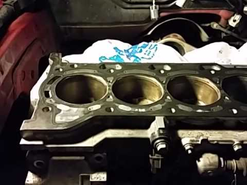 How To Fix A Blown Head Gasket >> Toyota matrix rough idle