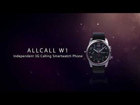 AllCall W1 Official Introduction-Independent 3G calling Smartwatch Phone