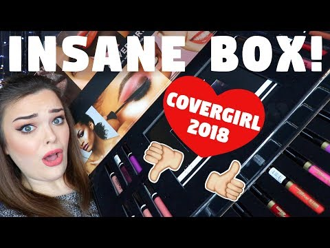 IM IN SHOCK! Covergirl Spring 2018 Collection Unboxing, Try On, & First Impressions!