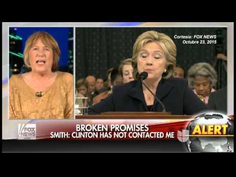 Hillary Clinton responde sobre correos y Benghazi en debate de Univision y el Washington Post
