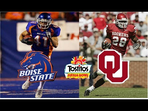 Homage to the Past: 2007 Fiesta Bowl || Boise State Shocks the World