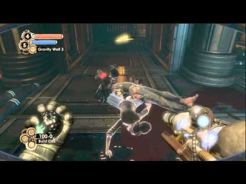Bioshock 2: Ion Laser and Gravity Well Plasmid