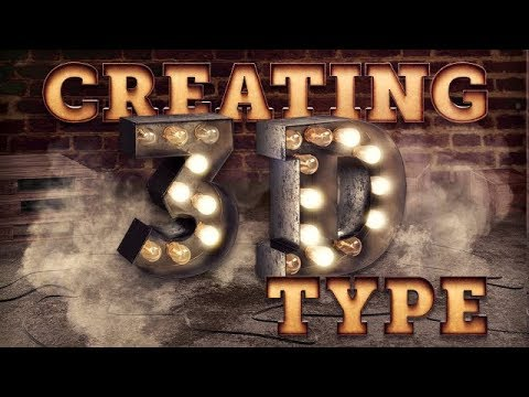 ILLUSTRATOR TUTORIAL | HOW TO CREATE A 3D TEXT EFFECT thumbnail