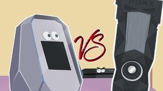 GTX 1080 vs TitanX (Parodie) | German Dub