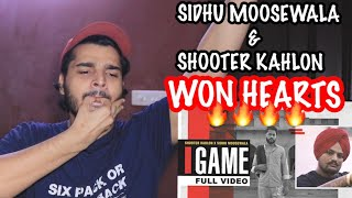 GAME REACTION |Shooter Kahlon | Sidhu Moose Wala | RTV PRODUCTIONS