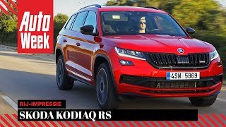 Skoda Kodiaq Rs - Autoweek Review - English Subtitles