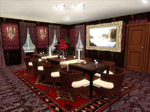 sims 3 mansion lynnewood hall replica huge big luxury ...