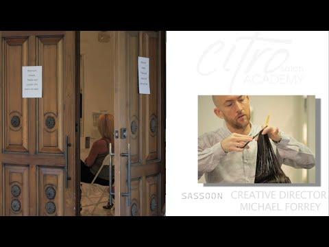 Citro Salon Academy -  Sassoon Creative Director Michael Forrey
