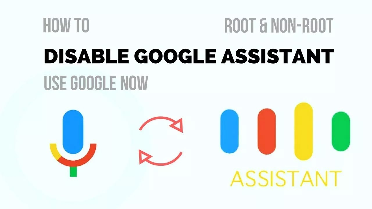 How To Disable Google Assistant - YouTube