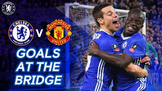 5 Brilliant Goals At The Bridge: Chelsea v Manchester United Ft. Kante, Hazard & More
