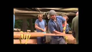 Строительство Круглый Лес Деревянным Каркасом 3(Бен Ло — обычный английский плотник — жил в вагончике на опушке леса и ничто не предвещало беды. Но задумал..., 2013-10-01T11:15:52.000Z)