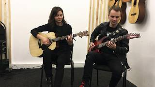Animal Джаz - Три полоски (кавер на гитарах)