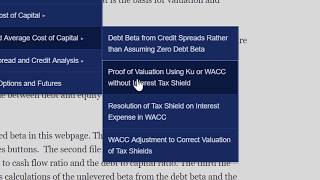 Correct Valuation of Tax Shield with Net of Tax Debt