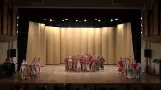 """Отчётный концерт Фольклорного отделения школы """"Радость"""" 2017 год"""