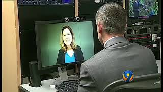 Laura Adams on WSOC-TV - North Carolina Home Insurance Rates