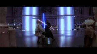 STAR WARS: EPISODIO I LA AMENAZA FANTASMA 3D - Clip Darth Maul