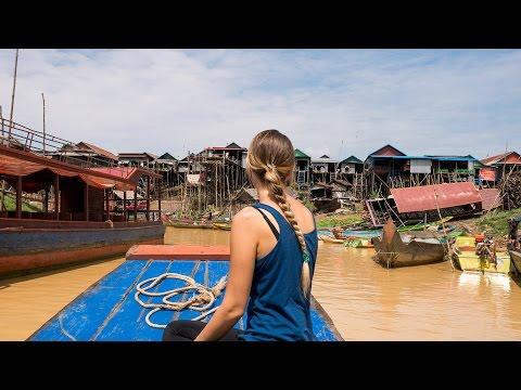 Ein Tag den wir nie vergessen werden - Floating Village Kambodscha - Weltreise | VLOG #206