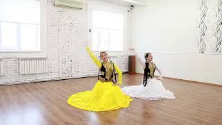 Узбекский танец урок в Москве. Этюд классический ферганский.
