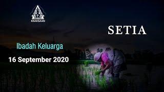 Ibadah Keluarga 16 September 2020 - GKJW Jemaat Kraksaan