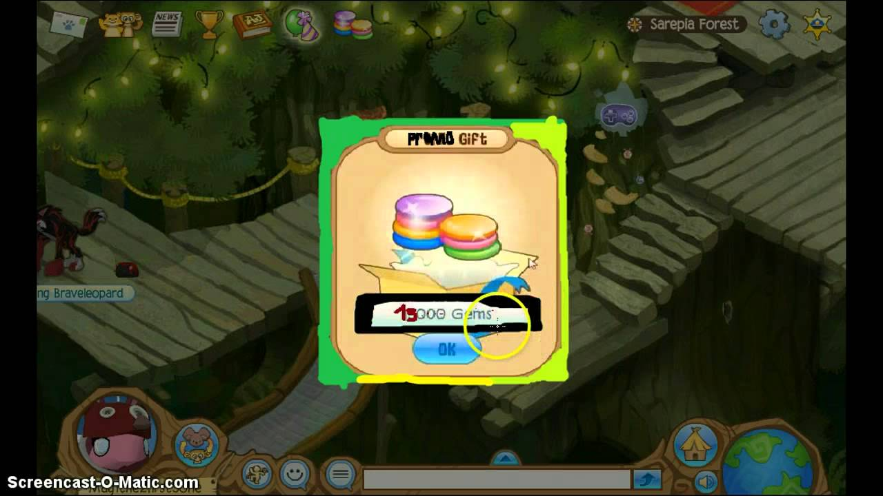 A PICTURE OF ME GETTING 15000 GEMS - ANIMAL JAM - YouTube
