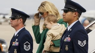 US President-elect Trump and family arrive for inauguration