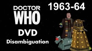 Doctor Who DVD Disambiguation - Season 1 (1963-64)