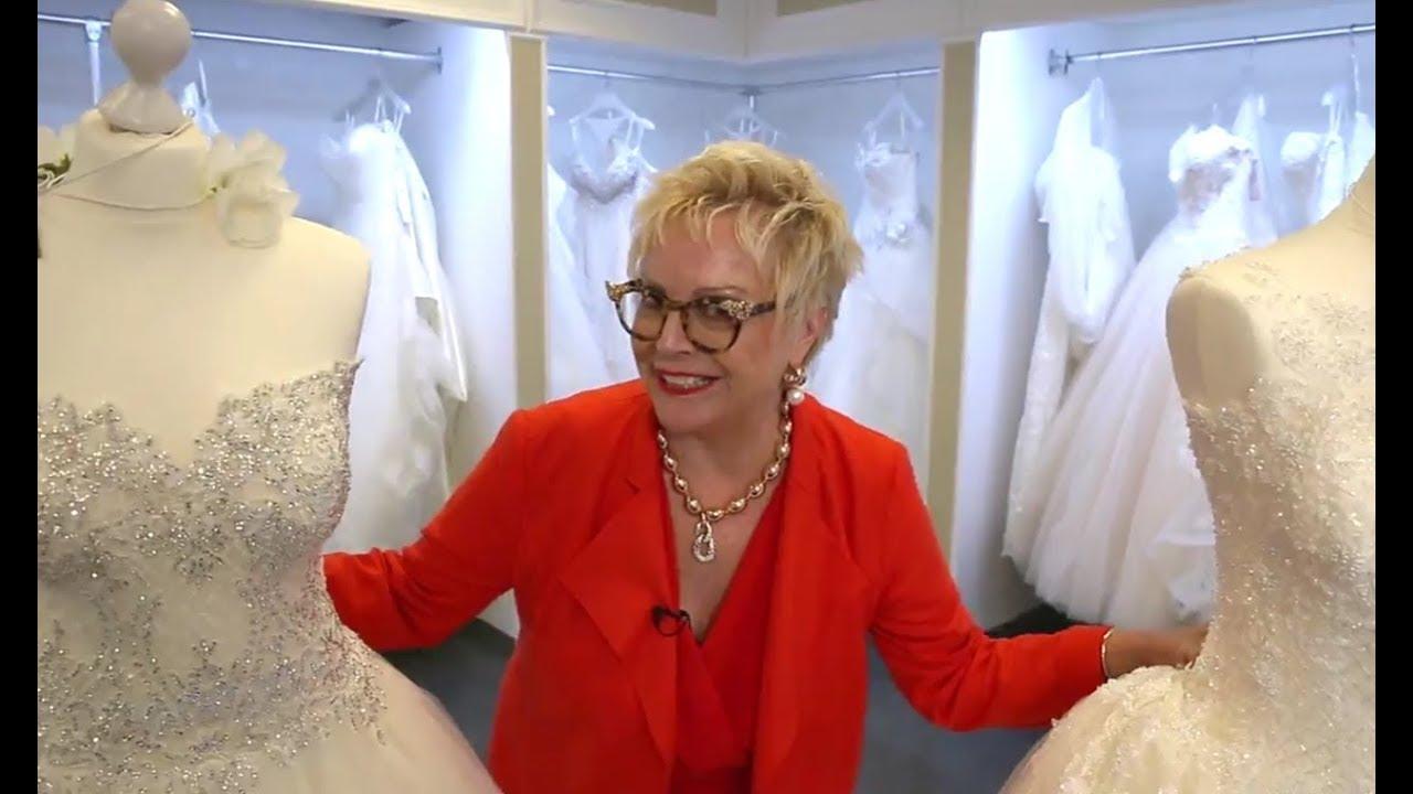 Ladies of Bling-Bling, hier sind Brautkleider für euch - YouTube