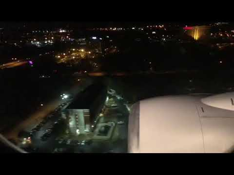 United Airlines B737-900 SFO To ATL Morning Landing In Atlanta