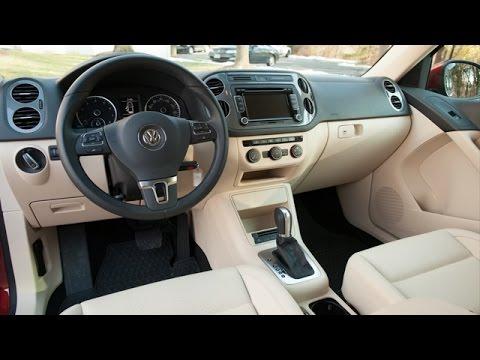 2015 Volkswagen Tiguan Interior Review - YouTube