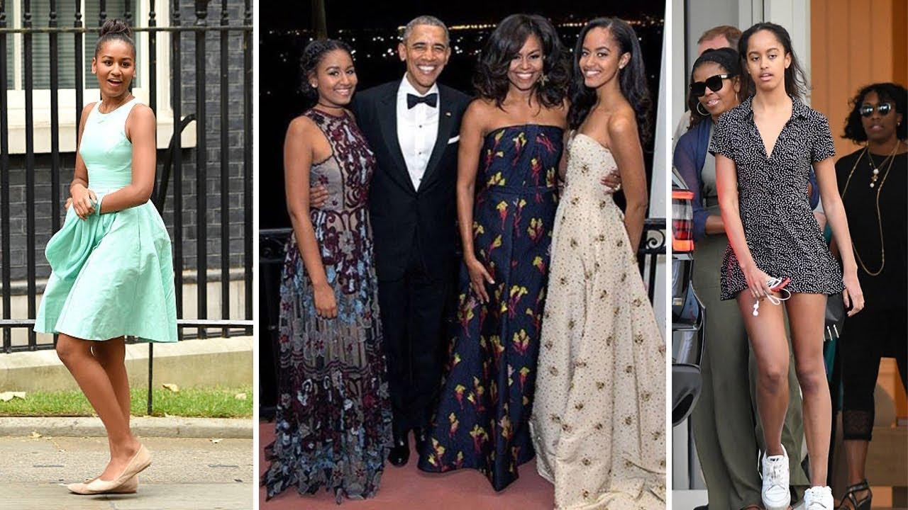 barack obama s daughters 2018 sasha obama malia obama youtube
