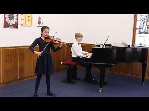 Jugend musiziert 2021, AG II Julia und Luis, Deutscher Tanz, L. v. Beethoven