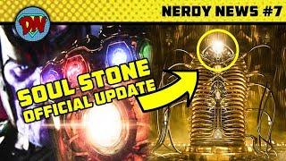 Iron Man New Weapon, Soul Stone, Deathstroke,  Black Panther, Batgirl | Nerdy News #7