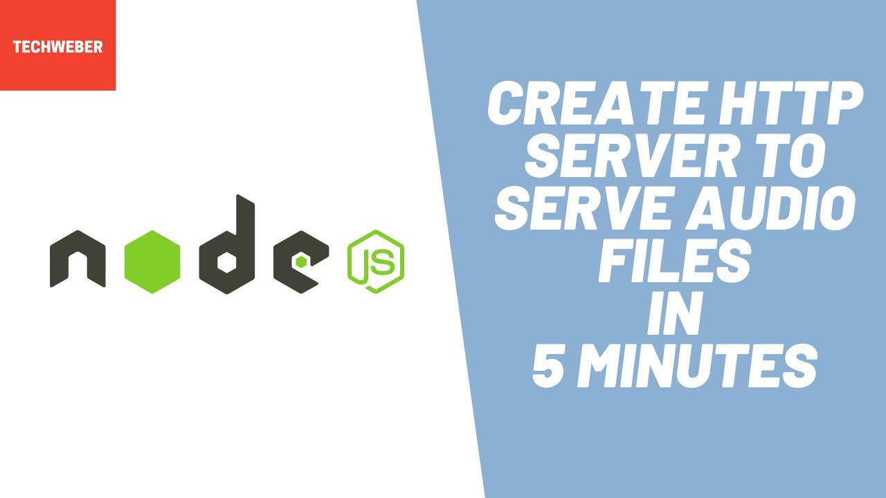 How to Create HTTP Audio Server in Node JS ( 5 minutes )