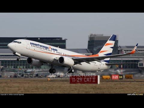 Travel Service B738: Departing Prague Rwy 24